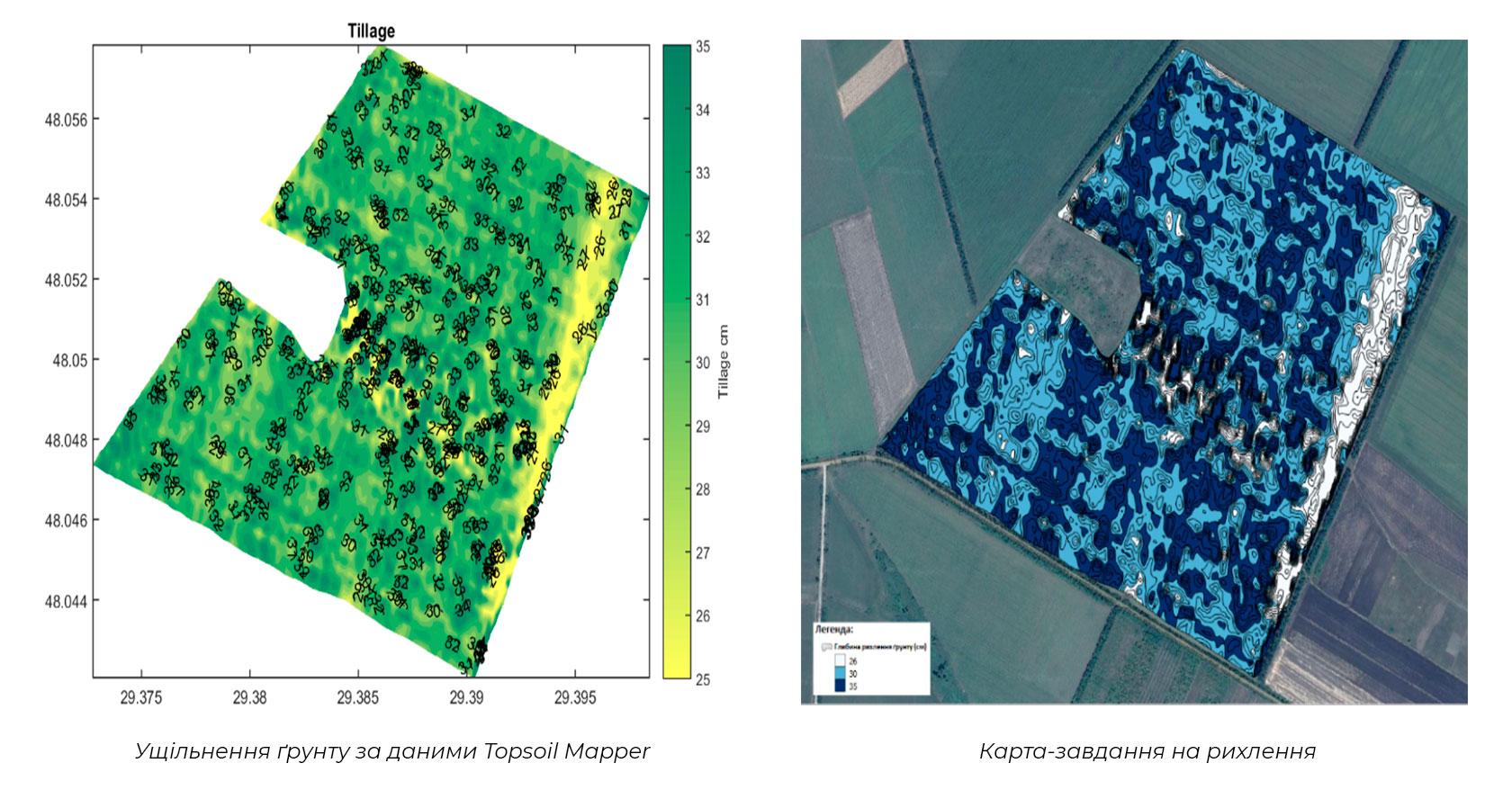 Карта-завдання на основі сканування ґрунту
